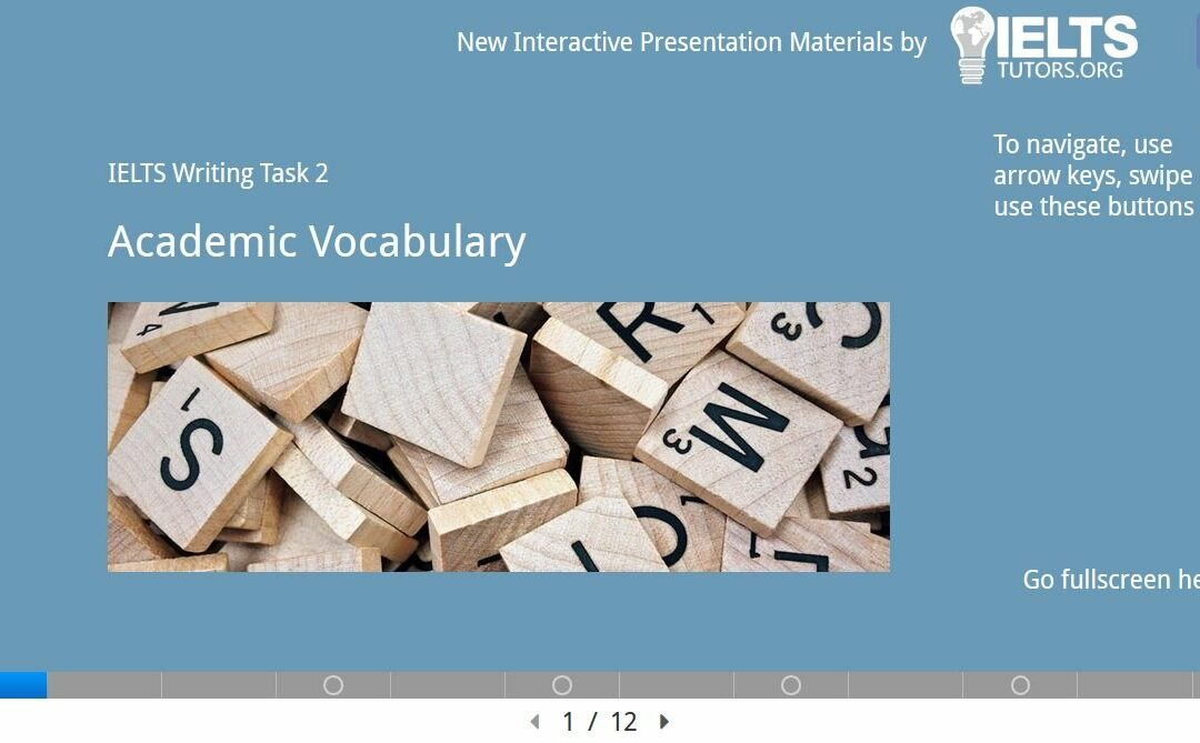 Academic Vocabulary 1