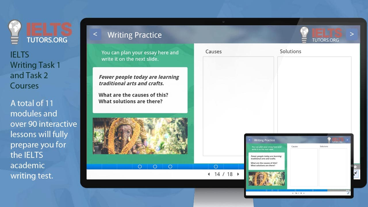Our complete writing preparation course